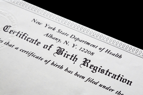 Word 2013 Birth Certificate